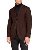 Ermenegildo Zegna Men's Cashmere/Silk Two-Button Jacket