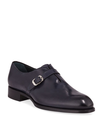 Men's Benedict Monk-Strap Loafers