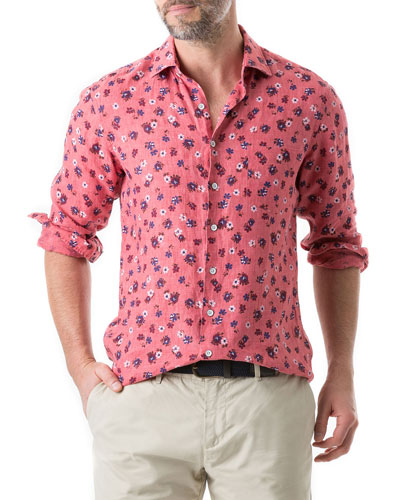 Men's Islington Bay Floral Sport Shirt