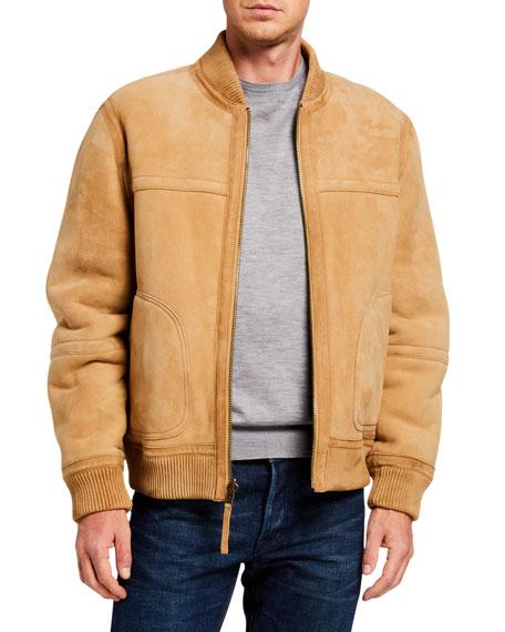 Vince Men's Reversible Shearling Bomber Jacket
