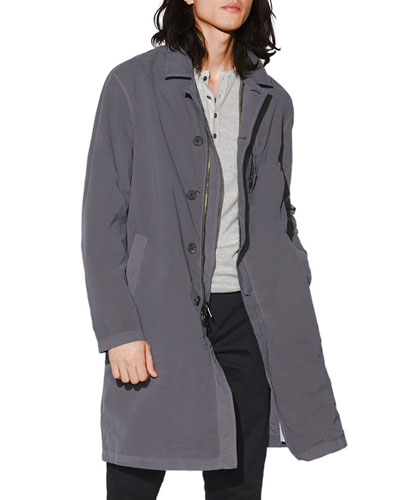 Men's Chest-Welt Easy-Fit Coat