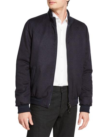 Stefano Ricci Men's Reversible Blouson Jacket