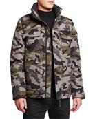 Canada Goose Men's Forester Camo Parka Jacket