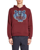 Kenzo Men's Hiking Tiger Graphic Hoodie