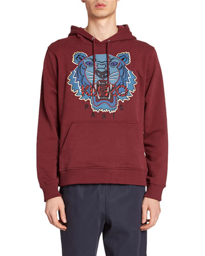 Men's Hiking Tiger Graphic Hoodie