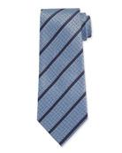 Ermenegildo Zegna Men's Textured Stripe Tie