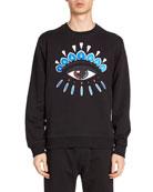 Kenzo Men's Eye Embroidery Sweatshirt