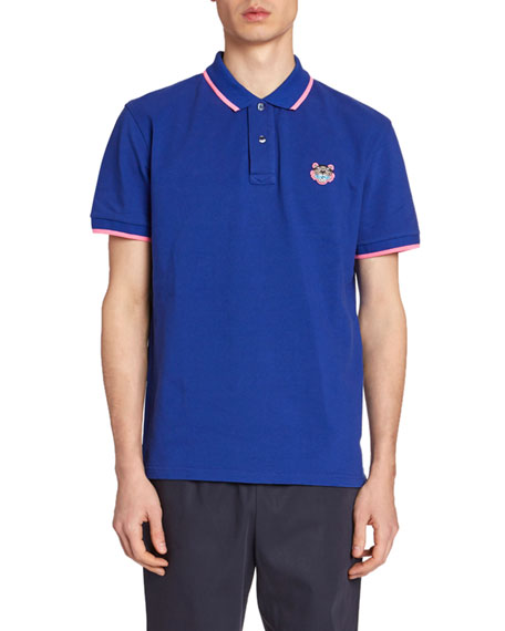 Kenzo Men's Tiger Crest Polo Shirt