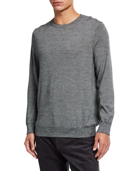 Vince Men's Striped Crewneck Sweater