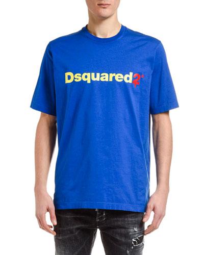 Men's D2 Logo Short-Sleeve T-Shirt