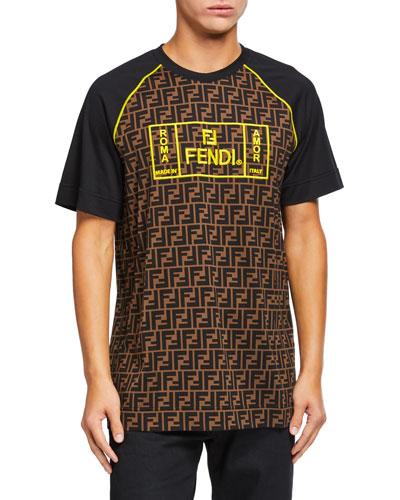 Men's FF- Graphic Print T-Shirt
