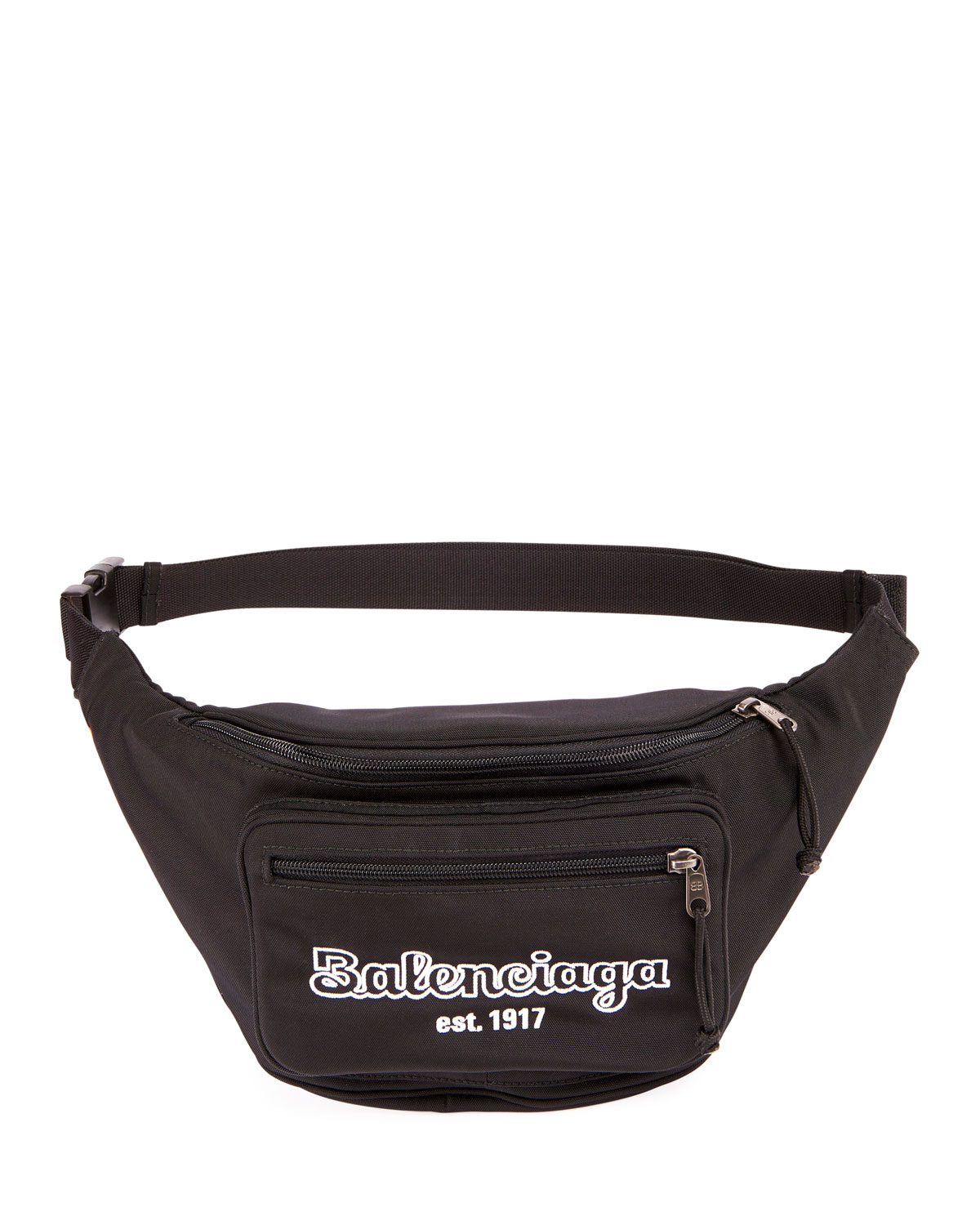 7a9d8319fad Balenciaga Men's Explorer Belt Bag/Fanny Pack In Black | ModeSens