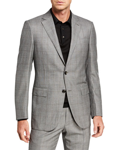 Men's Prince of Wales Two-Piece Suit