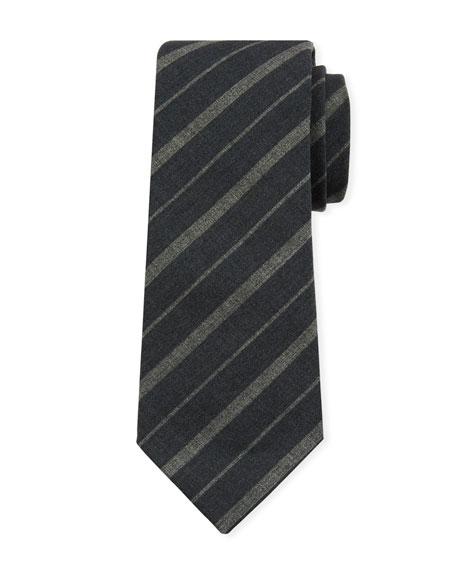 Brunello Cucinelli Striped Wool Tie