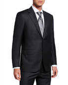 Canali Men's Pinstriped Two-Piece Wool Suit