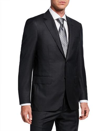 708de9d2edc Quick Look. Canali · Men's Pinstriped Two-Piece Wool Suit