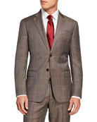 Emporio Armani Men's G-Line Windowpane Wool Two-Piece Suit