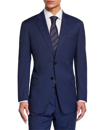 Men's G-Line Virgin Wool Two-Piece Suit