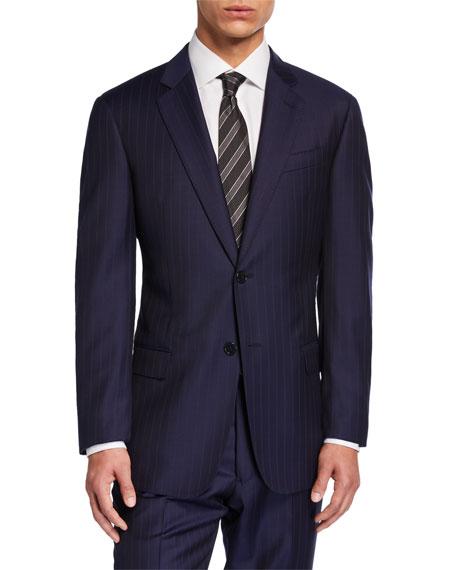 Emporio Armani Men's G-Line Tonal Pinstripe Two-Piece Suit