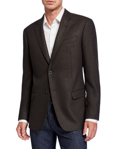 Men's G-Line Micro-Dot Two-Button Jacket