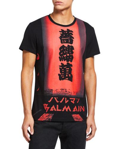 Men's Printed Crewneck T-Shirt