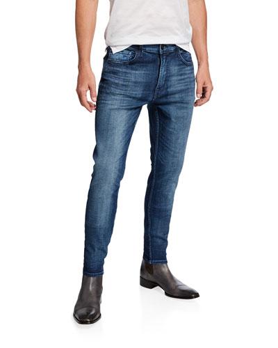 Men's Zack Slim-Skinny Washed Jeans