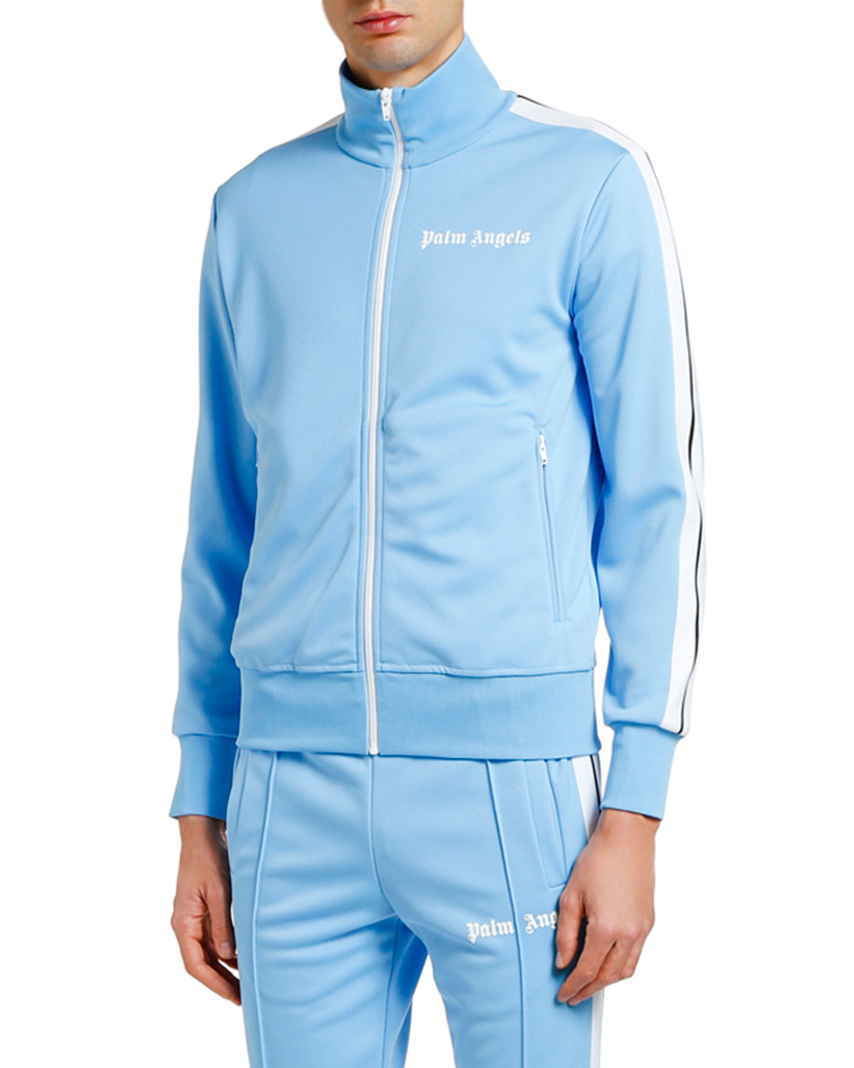 Palm Angels Jackets MEN'S CLASSIC TRACK JACKET