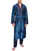 Derek Rose Men's Verona 46 Silk Robe