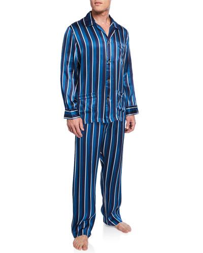 Green//Blue Multi Family Pajamas Men/'s Mackenzie Plaid 2-Piece PJ Set