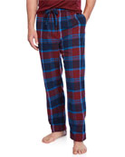 Derek Rose Men's Kelburn 7 Plaid Lounge Pants