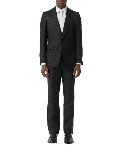 Men's TB Logo Two-Piece Suit
