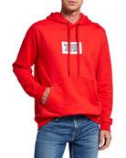 Burberry Men's Farrows Logo Hoodie Sweatshirt