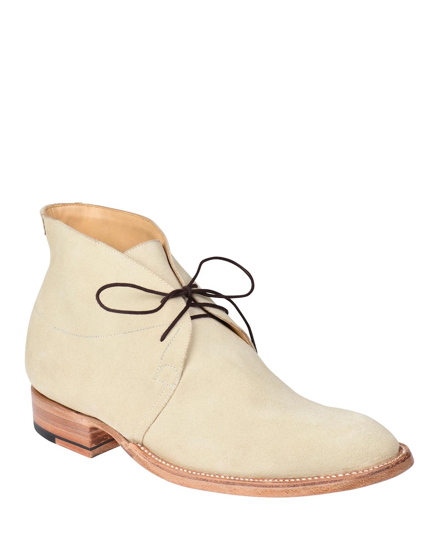 Men's Evan Buck Suede Chukka Boots
