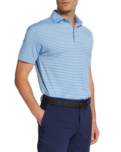 Men's Halifax Striped Polo Shirt