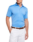 Peter Millar Men's Classic Performance Fit Solid Polo