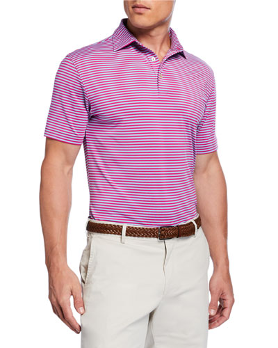 619dec042 Quick Look. Peter Millar · Men's Competition Striped Polo Shirt