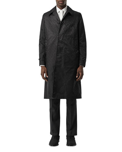 Men's Allover TB Nylon Car Coat