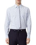 Burberry Men's Monogram-Print Sport Shirt