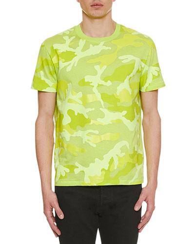 Men's Camo Crewneck T-Shirt