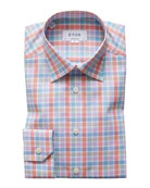Eton Men's Bold Check Dress Shirt