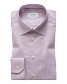 Eton Men's Tattersall Check Dress Shirt