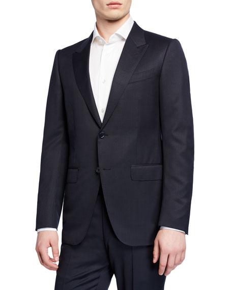 Ermenegildo Zegna Men's Two-Piece Wool Trim-Fit Check Suit