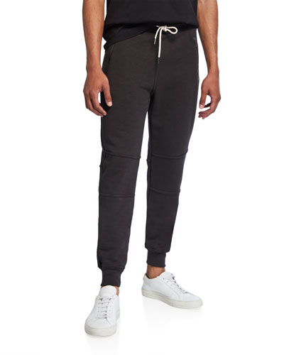 Men's French Terry Cloth Jogger Pants