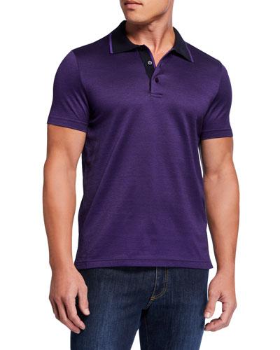 Men's Mercerized Interlock Polo Shirt
