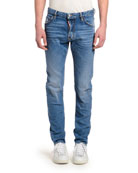 Dsquared2 Men's Cool Guy Clean Slim-Fit Jeans