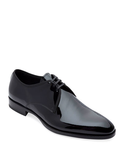 Men's Hancock II Formal Patent Leather Derby Shoes