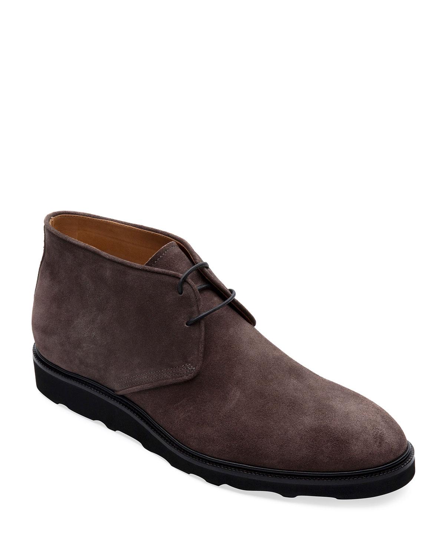Men's Lugano Suede Chukka Boots