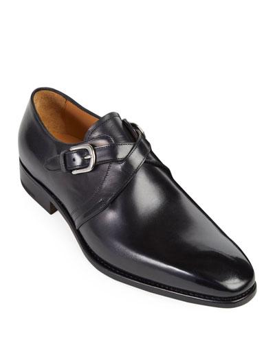Men's Galante Cross-Strap Loafers