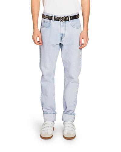 74876b4d Purple Denim Jeans | Neiman Marcus