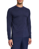 Peter Millar Men's Rio Technical Long-Sleeve T-Shirt